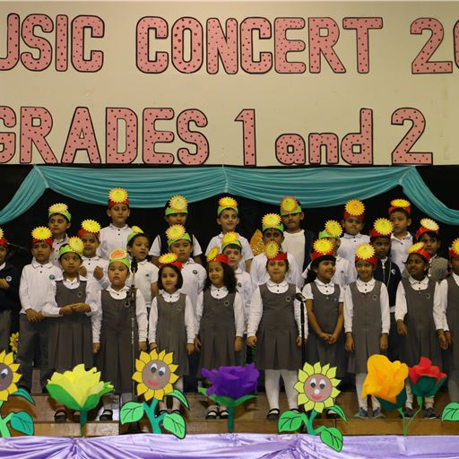 Ruwais Private School - Grade 1 and 2 Music concert (April 2016)